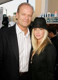 Kelsey Grammer and Camille at the premiere of
