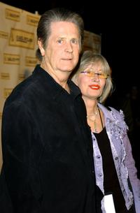 Brian Wilson and Melinda Wilson at the Carl Wilson Benefit Foundation Concert