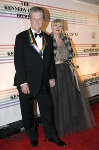 Brian Wilson and Vanessa at the Kennedy Center Honors gala.