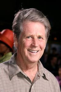 Brian Wilson at the premiere of