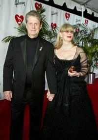 Brian Wilson and Melinda Wilson at the MusiCares 2005 Person of the Year Tribute to Brian Wilson.