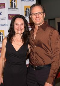 Beth Grant and Todd Holland at the Hollywood Film Festivals Opening Night Gala premiere of