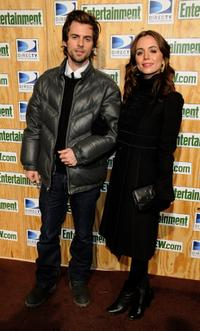 Nate Dushku and Eliza Dushku at the Entertainment Weekly's Sundance Party.