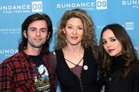 Nate Dushku, producer Ondi Timoner and Eliza Dushku at the screening of