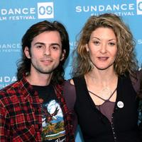 Nate Dushku and producer Ondi Timoner at the screening of