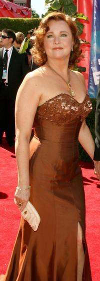 Faye Grant at the 58th Annual Primetime Emmy Awards.