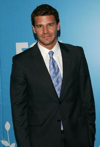 David Boreanaz at the FOX 2007 Programming presentation.