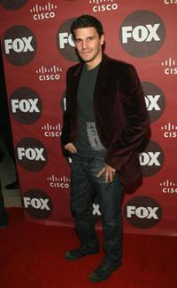 David Boreanaz at the Fox Fall Eco-Casino Party.