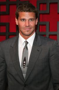 David Boreanaz at the FOX Broadcasting Company Upfront.