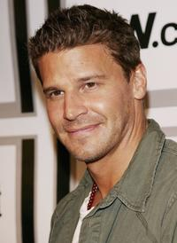 David Boreanaz at the Entertainment Weekly and Matrix Men upfront party.