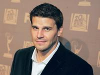 David Boreanaz at the 20th Century Fox Television Emmy after party.