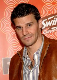 David Boreanaz at the FOX Fall Casino Party.