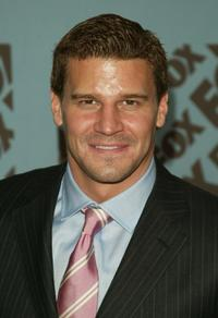 David Boreanaz at the Fox upfront.