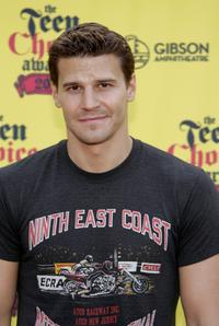 David Boreanaz at the 2005 Teen Choice Awards.