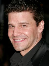 David Boreanaz at the Los Angeles screening of