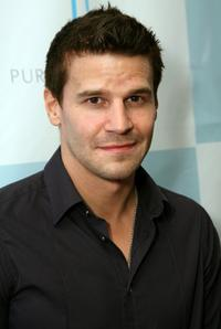 David Boreanaz at the Platinum Guild International USA Party.