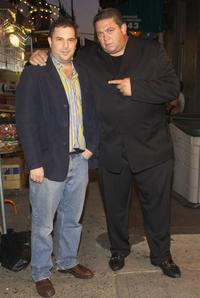 Director David Adler and Alex Corrado at the launch party of