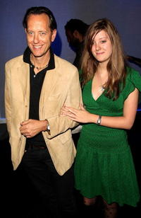 Richard E. Grant and his guests at the after party following the European premiere of