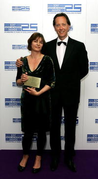 Richard E. Grant and Susan Roberts at the Sony Radio Academy Awards 2007 at Grosvenor House Hotel.