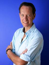 Richard E. Grant at the promotion of