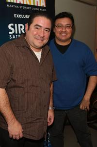 Emeril Lagasse and Mario Bosquez at the Martha Stewart Living Radio's