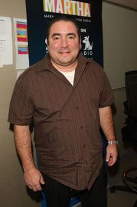 Emeril Lagasse at the Martha Stewart Living Radio's