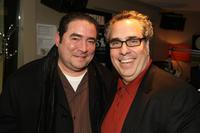 Emeril Lagasse and Michael Lomonaco at the Martha Stewart Living Radio's