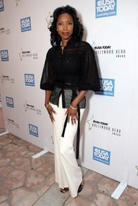 Heather Headley at the celebration honoring Geena Davis as this year's Hollywood Hero.