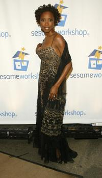 Heather Headley at the Sesame Workshop's Second Annual Benefit gala.