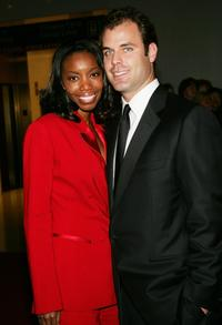 Heather Headley and Brian Musso at the 27th Annual Kennedy Center Honors gala.