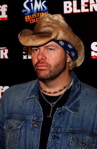 Toby Keith at the Kid Rock after party of American Music Awards.