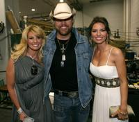 Faith Hill, Toby Keith and Shania Twain at the 42nd Annual Academy Of Country Music Awards.