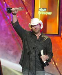 Toby Keith at the 39th Annual Country Music Awards.