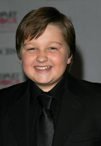 Angus T. Jones at the 33rd Annual People's Choice Awards.
