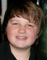 Angus T. Jones at the premiere of