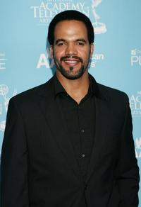 Kristoff St. John at the 34th Annual Daytime Creative Arts & Entertainment Emmy Awards.
