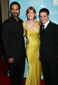 Kristoff St. John, Michelle Stafford and Christian LeBlanc at the 34th Annual Daytime Creative Arts & Entertainment Emmy Awards.