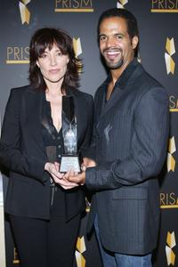 Katey Sagall and Kristoff St. John at the Ninth Annual Prism Awards.