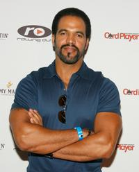 Kristoff St. John at the Urban Health Institutes second annual celebrity poker championship.