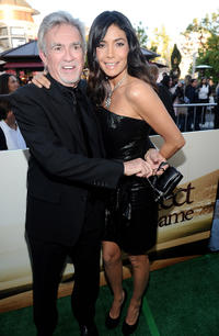 Director William Dear and Patricia Manterola at the California premiere of