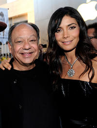 Cheech Marin and Patricia Manterola at the California premiere of