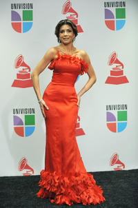 Patricia Manterola at the 9th Annual Latin Grammy Awards in Houston.