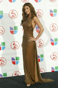 Patricia Manterola at the 6th Annual Latin Grammy Awards.