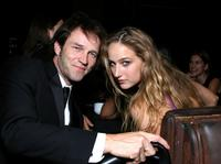 Stephen Moyer and Leelee Sobieski at the after party of the 35th AFI Life Achievement Award tribute to Al Pacino.