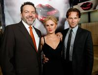 Producer Alan Ball, Anna Paquin and Stephen Moyer at the Los Angeles premiere of