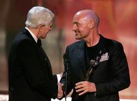 Peter Graves and Terry O'Quinn at the 12th Annual Screen Actors Guild Awards.