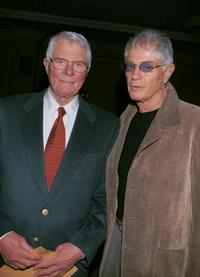 Peter Graves and Troy Donahue at the Pacific Pioneer Broadcasters Awards Luncheon honoring actress Beverly Garland.