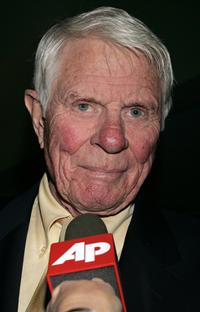 Peter Graves at the cast crew reunion and screening of
