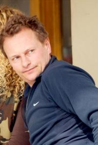 Neil Stuke at the restaurant in Los Angeles.