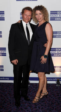 Neil Stuke and Guest at the 2011 Sony Radio Academy Awards.